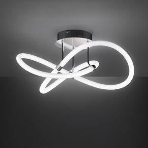 Wofi Stropné LED Mira s diaľkovým ovládaním, Ø 57,5cm
