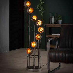 ZIJLSTRA Stojaca lampa Spiralamp, 8-plameňová