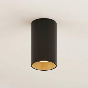 Arcchio Arcchio Dilana bodová lampa, okrúhla, GU10, čierna