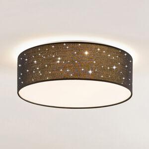 Lindby Lindby Ellamina stropné LED, 40 cm, čierna
