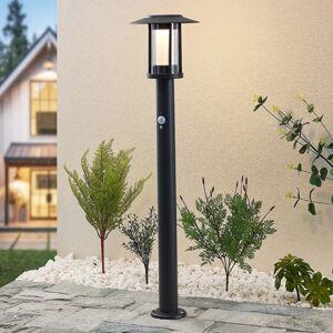 Lindby Lindby Volki solárne chodníkové LED so snímačom