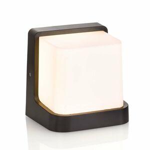 Lindby Vonkajšie nástenné LED svetlo Adenike bez snímača