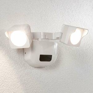 Lindby Vonkajšie nástenné LED svetlo Alexine snímač 2-pl.