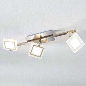 Lindby Stropné LED svietidlo Evelina, 3-plameňové