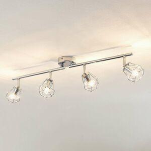 Lindby Lindby Giada stropné LED svietidlo štvor-plameňové