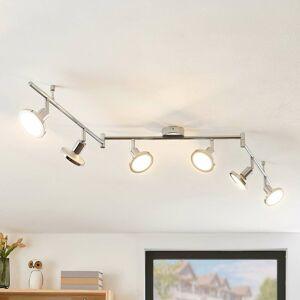 Lindby Lindby Ayden stropné LED svietidlo, šesť-plameňové