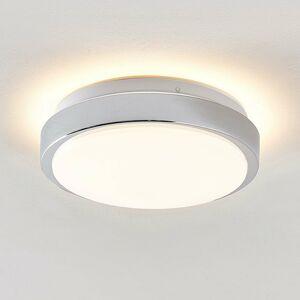 Lindby Lindby Camille stropné LED snímač Ø 26cm chróm