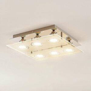 ELC ELC Tahyla stropné LED svietidlo GU10 sklo 32cm