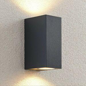 ELC ELC Fijona vonkajšie nástenné LED, hranaté, 15cm