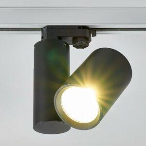 Lampenwelt.com LED svetlo koľajnicového systému Giol v čiernej