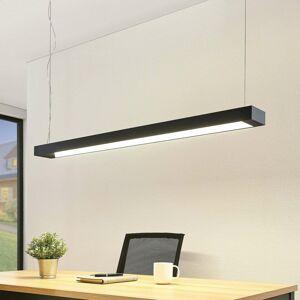 Arcchio Arcchio Cuna závesné LED svietidlo, čierne, 122cm