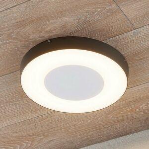 Lucande Vonkajšie stropné LED svetlo Sora okrúhle snímač