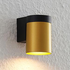 Arcchio Arcchio Asra nástenná lampa, 1-pl., zlatá