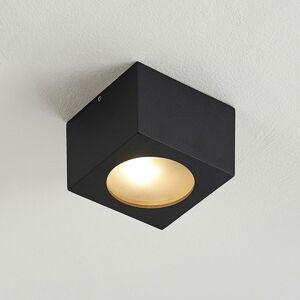 Arcchio Arcchio Nieva downlight, G9, čierna, hranatá