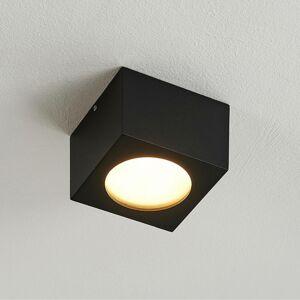 Arcchio Arcchio Nieva downlight, GX53, čierna, hranatá