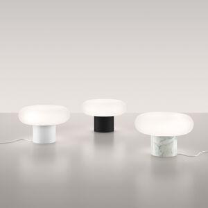 Artemide Artemide Itka stolná lampa keramický stojan čierny