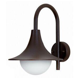 Albert Leuchten Vonkajšie nástenné svietidlo 167 pekný tvar čierne