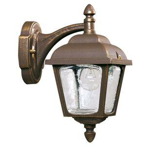 Albert Leuchten Vonkajšie nástenné svietidlo Landhaus 716, hnedé