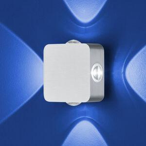 B-Leuchten B-Leuchten Prince nástenné svietidlo IP54, 12x12cm