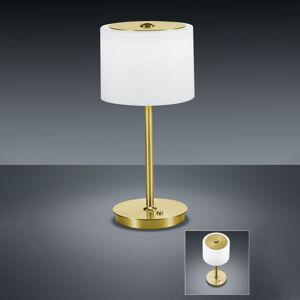 BANKAMP BANKAMP Grazia stolná LED lampa ZigBee mosadz