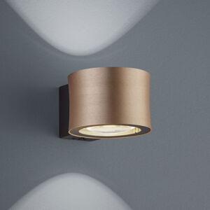 BANKAMP BANKAMP Impulse nástenné LED svetlo, ružové zlato