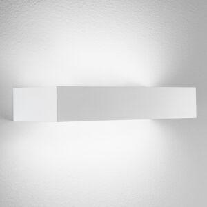 Egger Licht Brick 30 – hranaté nástenné LED svietidlo v bielej
