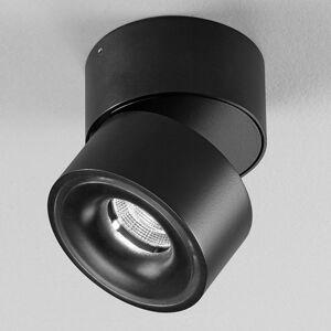 Egger Licht Clippo – čierne bodové LED z hliníka, stmievateľné