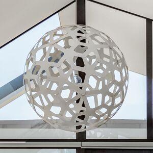 DAVID TRUBRIDGE david trubridge Coral závesná lampa Ø 60cm biela