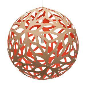 DAVID TRUBRIDGE david trubridge Floral lampa Ø80cm bambus-červená