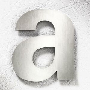 CMD Čísla domu z ušľachtilej ocele veľké – písmeno a