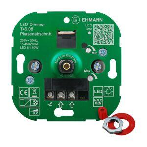 EHMANN EHMANN T46 LED stmievač fázová regulácia 15–450W