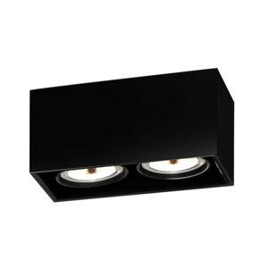 FLOS ARCHITECTURAL FLOS Compass Box H135 stropné svietidlo 2pl čierne