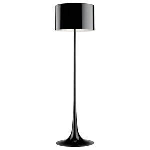 FLOS FLOS Spun Light F – čierna stojaca lampa