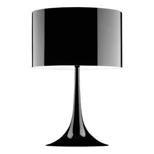 FLOS FLOS Spun Light T1 – čierna stolná lampa