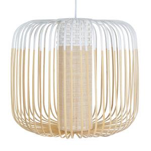 Forestier Forestier Bamboo Light M závesná lampa 45cm biela
