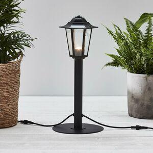 Markslöjd Garden 24 chodníkové LED svetlo Lucerna, čierna 3W