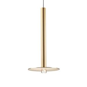 GROK Grok Candle závesné LED 00-6017 zlatá satinovaná