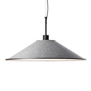 GROK Grok Shoemaker závesné LED okrúhle CCT svetlo sivé