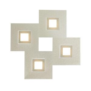 GROSSMANN GROSSMANN Karree 4-pl. 50x50 perlový lesk, titán