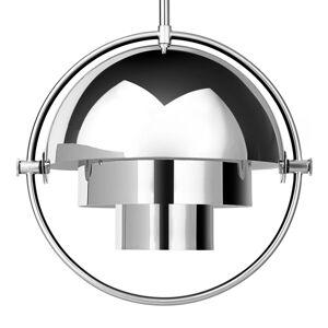 GUBI GUBI Multi-Lite závesná lampa 25,5cm chróm/chróm