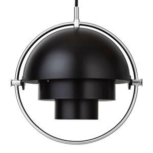 GUBI GUBI Multi-Lite závesná lampa 25,5cm chróm/čierna