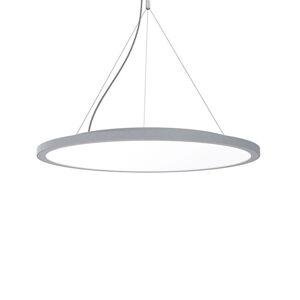 GLamOX Závesná lampa C95-P Circle sivá DALI, 4000K, 39W