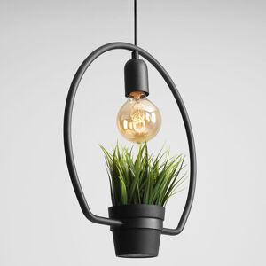 ALDEX Závesná lampa 975 dekór tráva, prstencový rám
