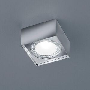 Helestra Helestra Kari stropné LED svietidlo hranaté, chróm