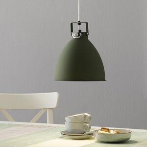 JIELDÉ Jieldé Augustin A240 závesná lampa olivovozelená