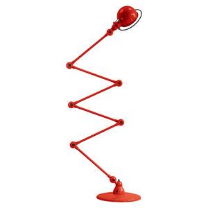 JIELDÉ Jieldé Loft D9406 stojaca lampa 6x40cm, červená