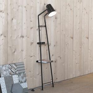 Karman Karman Alfred – stojaca lampa polička čierna matná
