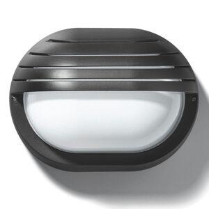 PERFORMANCE LIGHTING Vonkajšie nástenné svetlo EKO 19 GRILL, biele