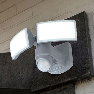 Eco-Light Vonkajšie nástenné LED svetlo Arc so snímač. biele