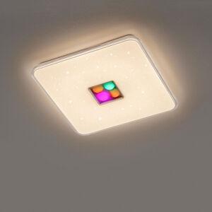 Trio Lighting Stropné LED Ogasaki, RGBW, diaľkové ovládanie 42cm